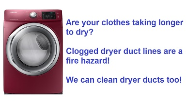 dryer vent cleaning in the Sarasota Florida area